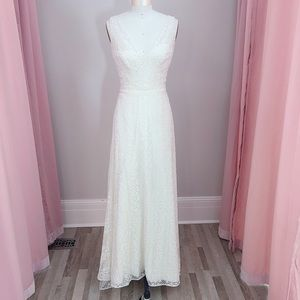 Watters Boho Wedding Gown Brighton 58110B size 8